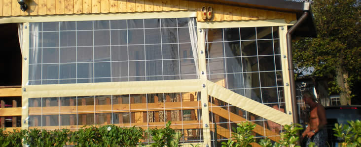 Interesting gramatica teloni copertura verande pergolati for Piani di veranda chiusa gratis